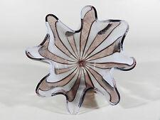 Venini Fazzoletto ° 50's Murano XL verre Taschentuchvase avec ätzmarke ° (13)