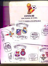 ESPAÑA MUNDIAL 82 - COLECCION COMPLETA 52 SOBRES DE LOS ENCUENTROS
