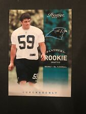 LUKE KUECHLY Prestige RC Carolina Panthers ROOKIE CARD #59 Football 2012