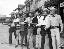 1959 Photo of 7 TV Western Stars-Maverick-Sugarfoot-Lawman-Bronco-Colt 45 & More