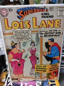 Superman's Girl Friend Lois Lane #5 1958 Fattest Girl In Metropolis!