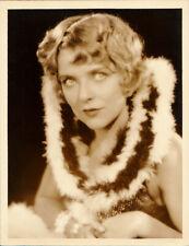 BLANCHE SWEET vintage 1920s ORIGINAL 10x13 Dblwt RUTH HARRIET LOUISE Stamp Photo