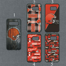 Cleveland Browns Phone Case For Samsung Galaxy S20 S10 S9 S8 Note 20 10 9 Cover