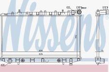 Nissens 629731 Radiator FIT NISSAN PRIMERA 2,0 AUT. 90-