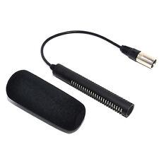 JJC Mikrofon für Sony ECM-NV1 DSR-250P HVR-Z1C Panasonic AJ-MC700P HMC-173MC