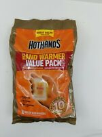 Hot Hands 10 hour Hand Warmers 10 Count Value Pack EXP 04/23