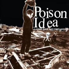 Poison Idea - Latest Will and Testament [New Vinyl LP] Explicit, White, 180 Gram