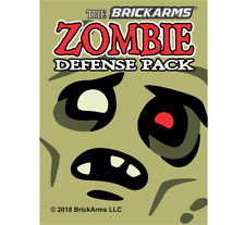 BrickArms 2018 Zombies Defense Pack - Fits LEGO Minifigures
