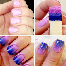 8PC DIY Tool Nail Art Supplies Manicure Sponges Stamp Stamping Polish Template