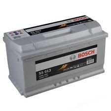 BOSCH S5 013 100Ah PREMIUM Autobatterie Starterbatterie Silver PLUS *NEU*