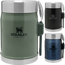Stanley Legendary 14 oz. Vacuum Insulated Stainless Steel Food Jar with Spork
