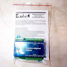 Kühn / Kuehn Universeller Schaltdecoder WD10 DCC/MM Art. 87010 - NEU