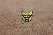 Original WW2 U.S. Army Air Forces (AAF) Small Lapel Winged Pin