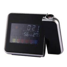 New Fashion Attention Projection Digital Weather LCD Snooze Alarm Clock Projecto