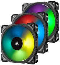 Corsair ML120 Pro PWM RGB 120mm Computer Case Fans - Triple Pack
