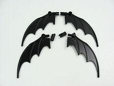 4x LEGO Batman Mobile Black Wings Dragon Animal 8x10 7884 7880 w/Hinges #55706