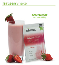 Isagenix 1 Strawberry Cream Protein Shake Packets Weight Loss Meal Replacement