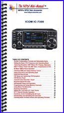 Icom Ic-7300 Mini-Manual by Nifty Accessories