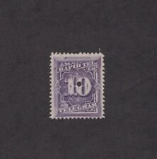 Scott 1T4 - Telegraph Stamp. Single. Punched  #02 1T4p