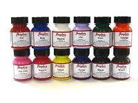 Angelus Vinyl Sneaker  Acrylic Paint  Kit 12 colors  | 1.oz each bottle |