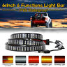 "60"" 6 MODES Truck Strip Tailgate Light Bar 3Row Reverse Brake Signal Tail Light"