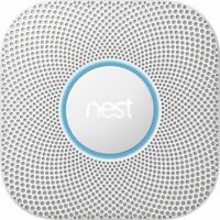 Nest Protect 2nd Generation Smart Smoke/Carbon Monoxide Wired Alarm - W