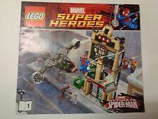 LEGO Instruction Notice Marvel Super Heroes Spider-Man (9473) livre 1
