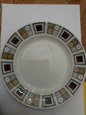 "Vintage Broadhurst Ironstone Kathie Winkle Design Rushstone8"" Plate retro 60s"