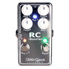 Xotic RC Booster V2 Clean Boost Pedal in Chrome Version 2
