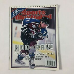 Colorado Avalanche Stanley Cup Champion SPORTS ILLUSTRATED COMMEMORATIVE ISSUE