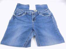 Earl Jean Womans Size 16 Denim Jeans Rhinestones Bling Embellished E002
