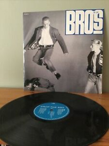 "Bros Drop The Boy 12"" Single Vinyl"