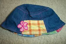 The Childrens Place Denim Baby Sun Hat 36 Months-4T