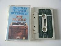BACHMAN TURNER OVERDRIVE NOT FRAGILE CASSETTE TAPE 1974 PAPER LABEL MERCURY UK
