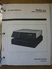 Motorola Radius R200 Desk Top Repeater Inst Manual #205