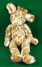 "Godfrey the Giraffe Plush Russ Berrie & Co Surface Washable 14"" With Tags (662)"