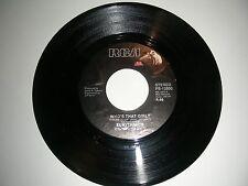 Eurythmics - Who's That Girl ? / Aqua  45 rpm  RCA Records  NM  1983