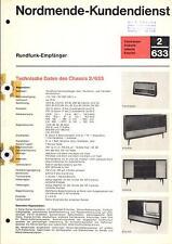Nordmende Service Manual für Tannhäuser-Arabella-Isabella-Exquisit  2.633  Copy