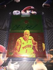 2016-17 Panini Grand Reserve Difference Makers Chauncey Billups Auto #09/75 Card