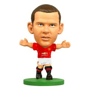 WAYNE ROONEY MANCHESTER UNITED LEGEND SOCCERSTARZ MINI SOCCER FIGURE