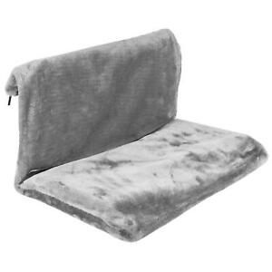 Soft Cat Radiator Bed Warm Fleece Beds Hanging Bed Dog Pet Kitten Grey Hammock