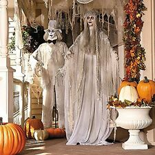 Haunting Ghost Bride & Groom Spooky Scary Halloween Haunted House Prop Decor NEW