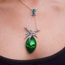 GENUINE Alchemy Gothic Pendant - Absinthe Fairy | Ladies Alternative Necklace