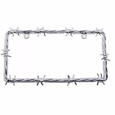 BARBED WIRE LICENSE PLATE FRAME - CAR TRUCK SUV