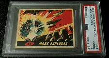 1964 Mars Attacks UK #54 PSA 2 Mars Explodes England A&BC 1962 Topps abc Alien