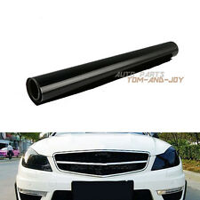 X1 Dark Black Color Changing Tint Vinyl Wrap Sticker Car Headlight Film 60*30