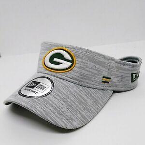 New Era 100%authentic Visor MLB Adjustable Green bag packers gray logo