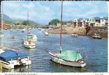 Wales: The Harbour and Bridge, Portmadoc - Posted 1995