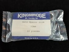 Kingsbridge Axle Spacer Shim 10mm, Pack of 10. Alloy. Cycling.