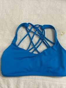 Lululemon Sports Bra 6 medium blue